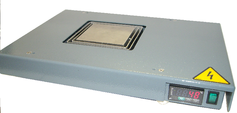 Platine chauffante 90x90 - Plaque
